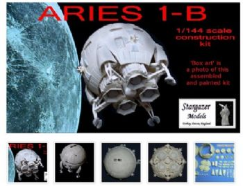 2001 A Space Odyssey Aries 1B Model Kit